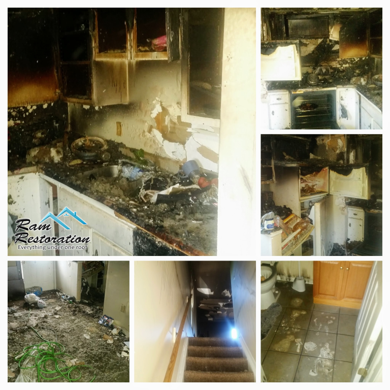 Fire Damage Restoration In Dayton